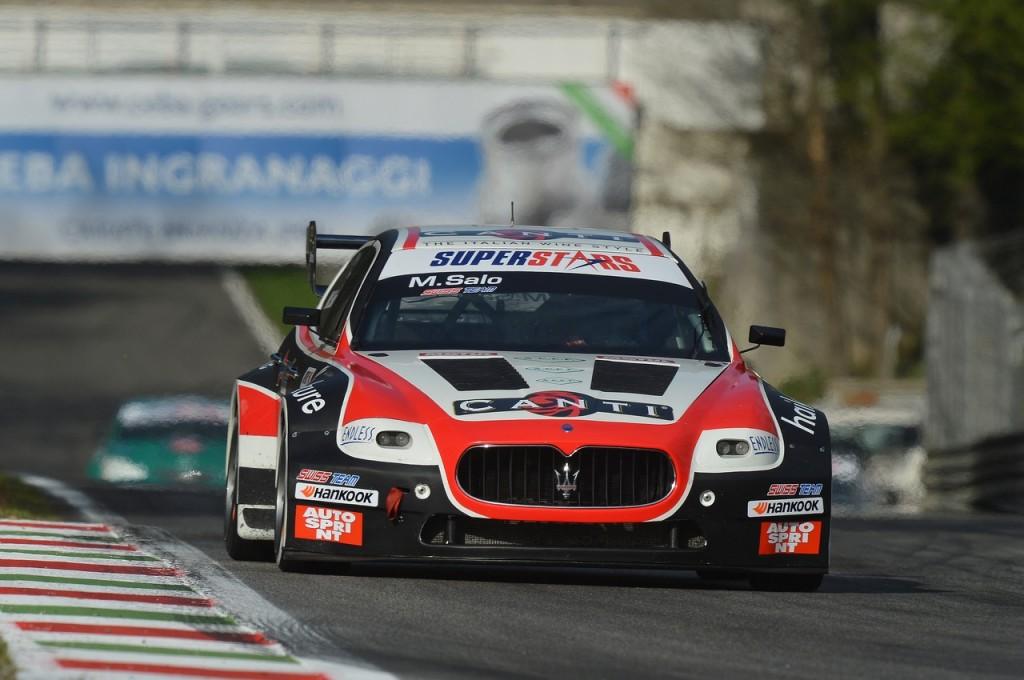 Mika Salo (FIN) Maserati Quattroporte Swiss Team