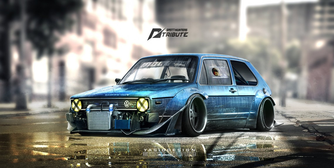 speedhunters_golf_mk1___nfs_tribute__by_yasiddesign-d8xiewd