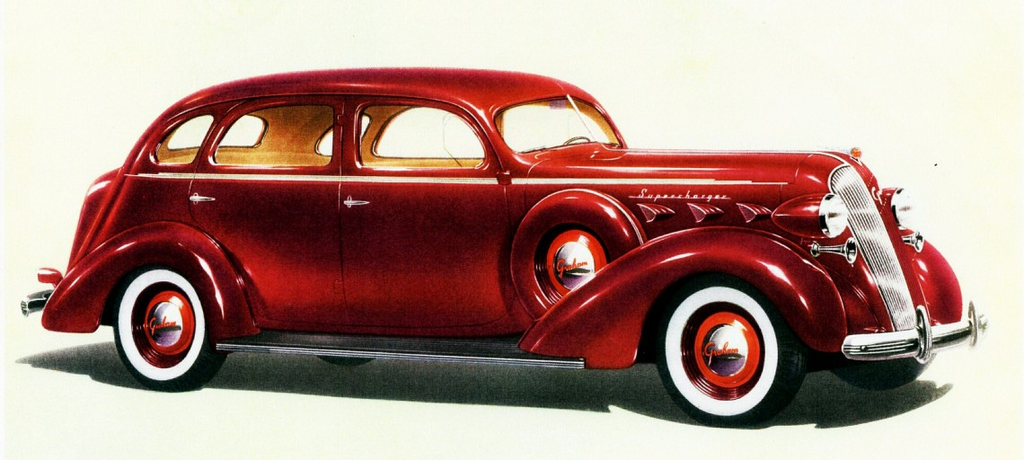 1937_Graham_Custom_Series_120_Supercharger_Four-door_Sedan_(9577599975)