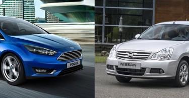 Что выбрать: Ford Focus или Nissan Almera?