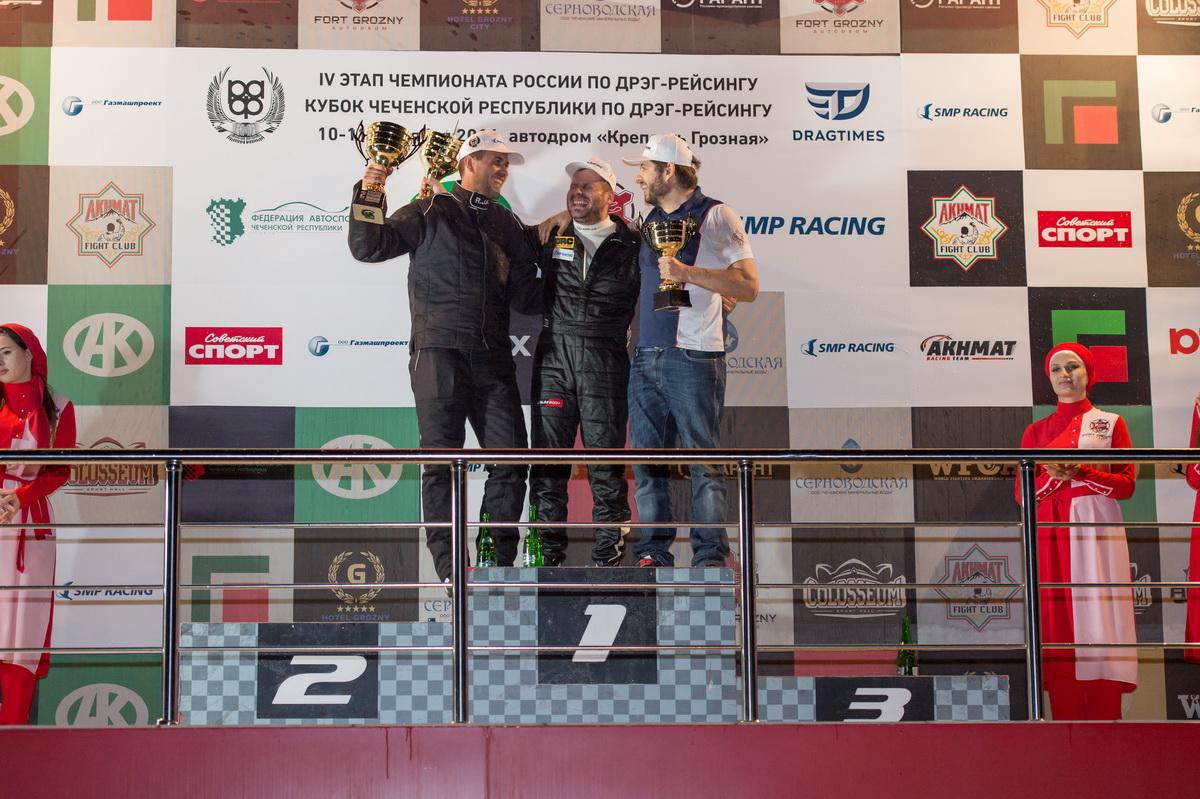 Класс RWD_4 этап_1 место - Кондаков, 2 место - Кравченко, 3 место - Саморуков