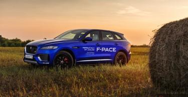 Jaguar F-Pace First Edition Тест-драйв Ягуар Ф-Пейс
