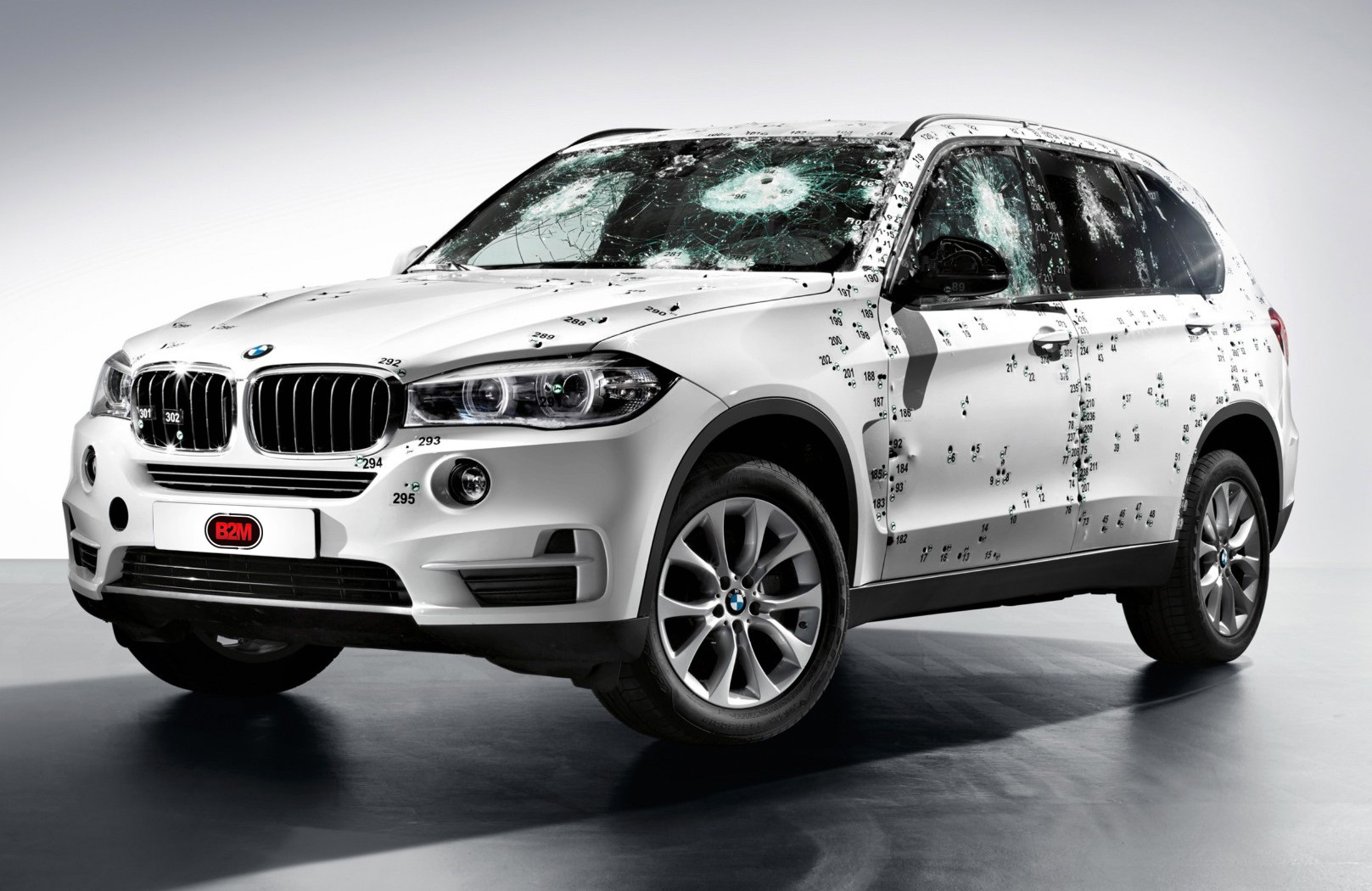 Image with 2014 BMW X5 Security