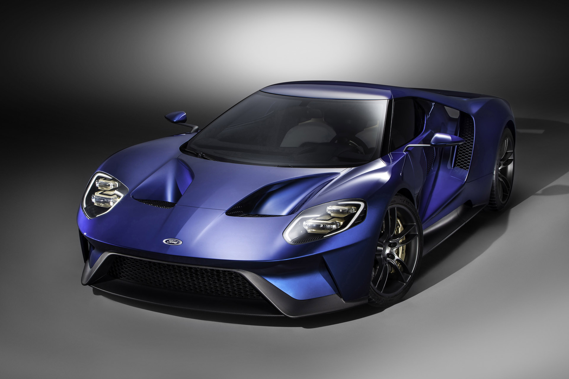 The all-new Ford GT supercar is an ultra-high-performance, rear-wheel drive, carbon-fiber two-door coupe powered by a mid-mounted, twin-turbocharged EcoBoost® V-6 engine, and represents the pinnacle of the Ford Performance group as a showcase for Ford innovation and expertise in aerodynamics, lightweight construction and connected car technology.